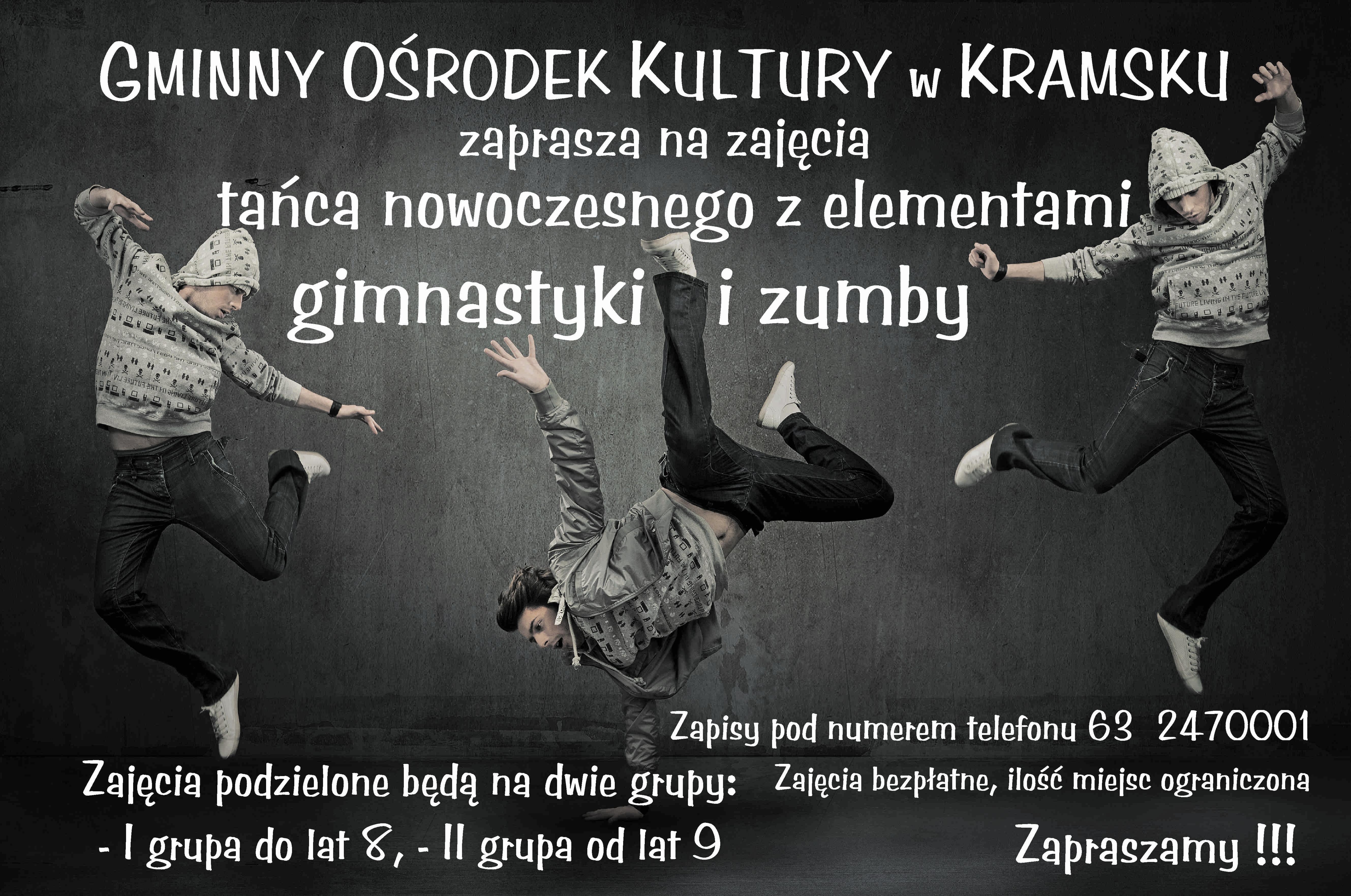 Plakat taniec nowoczesny poprawa2