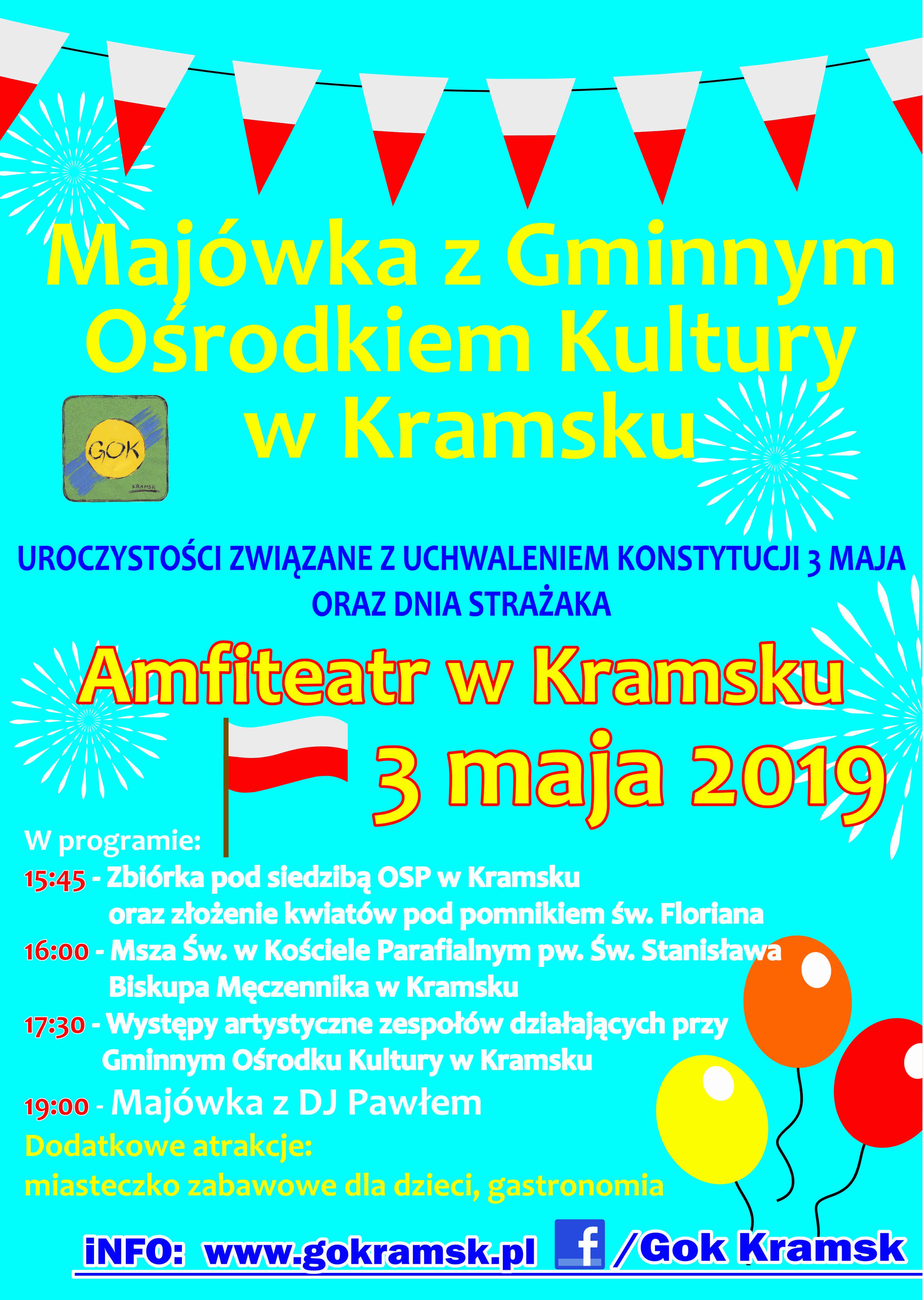 Plakat Majowka GOK (1)
